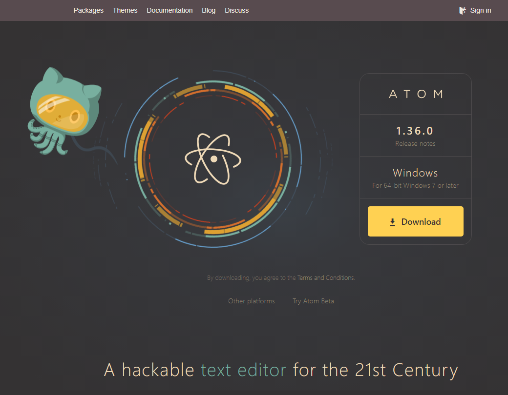 atom portable version linux