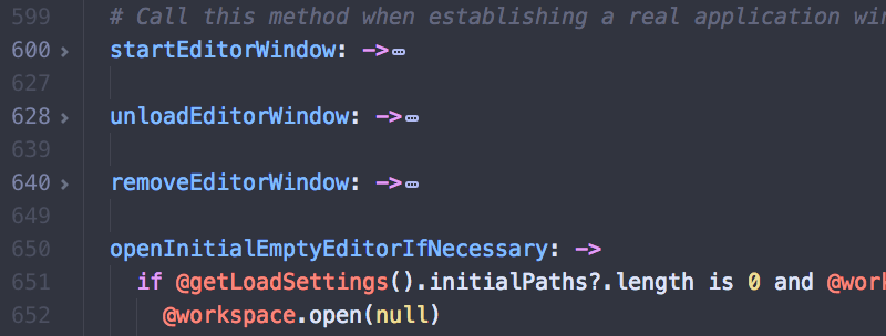 atom comment shortcut